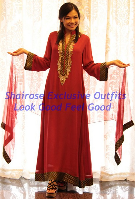 Jubah / Long Dresses - 1009