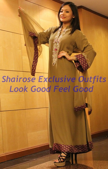 Jubah / Long Dresses - 1028