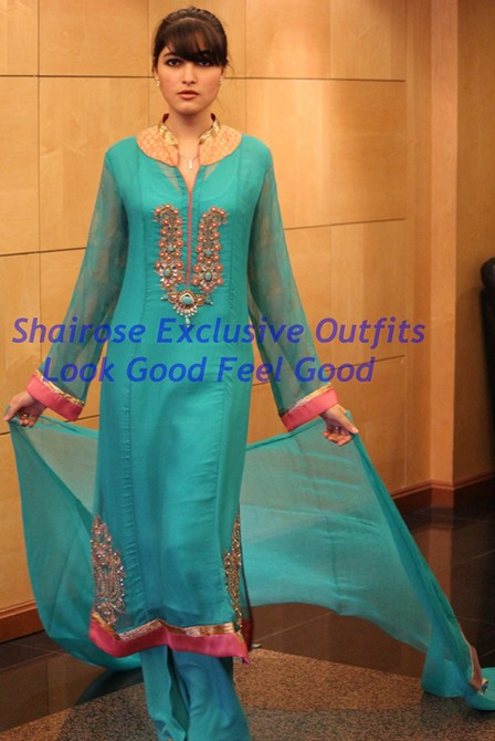 Bollywood Style Muslima Fashion Wear - 2005