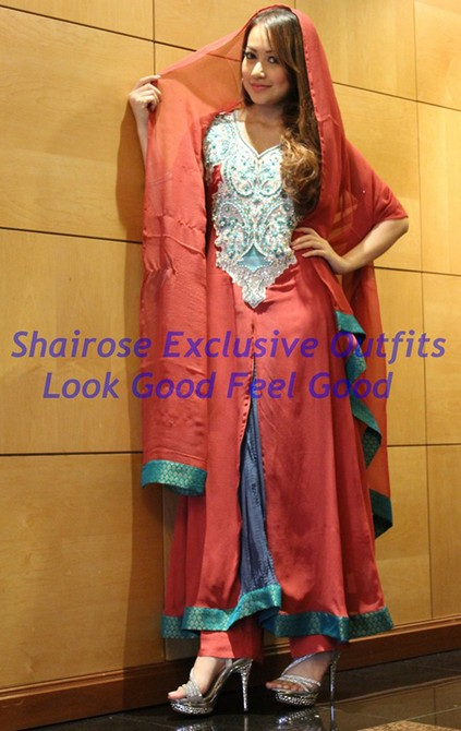Bollywood Style Muslima Fashion Wear - 2009