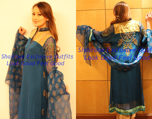 Bollywood Style Muslima Fashion Wear - 2031