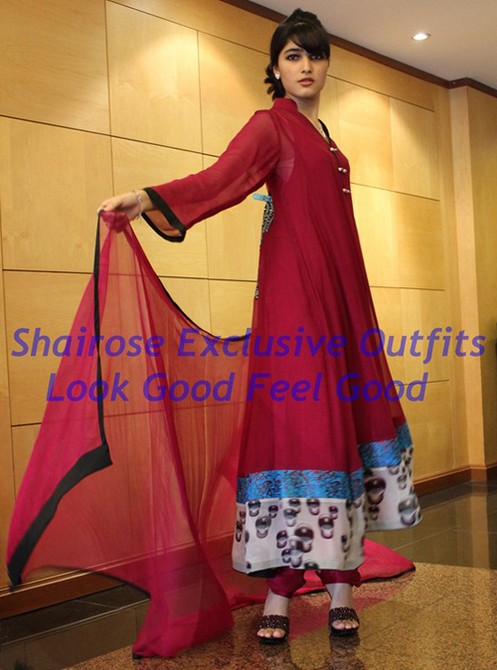 Bollywood Style Muslima Fashion Wear - 2033