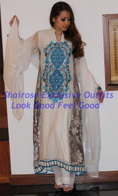 Bollywood Style Muslima Fashion Wear - 2034