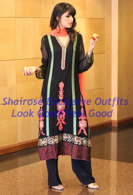 Bollywood Style Muslima Fashion Wear - 2035