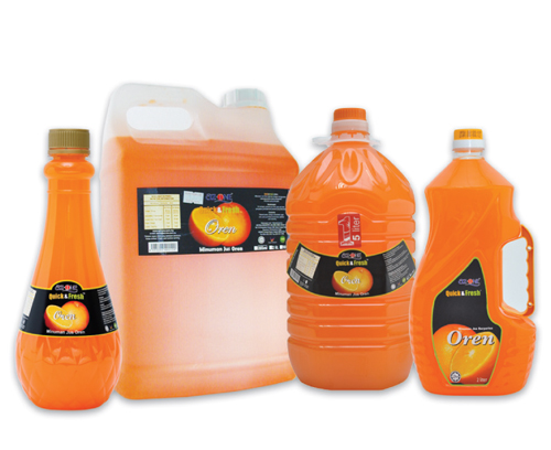 AZ-One Orange Fruit Juice