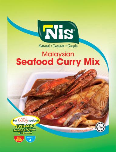 Nis Malaysian Seafood Curry Mix