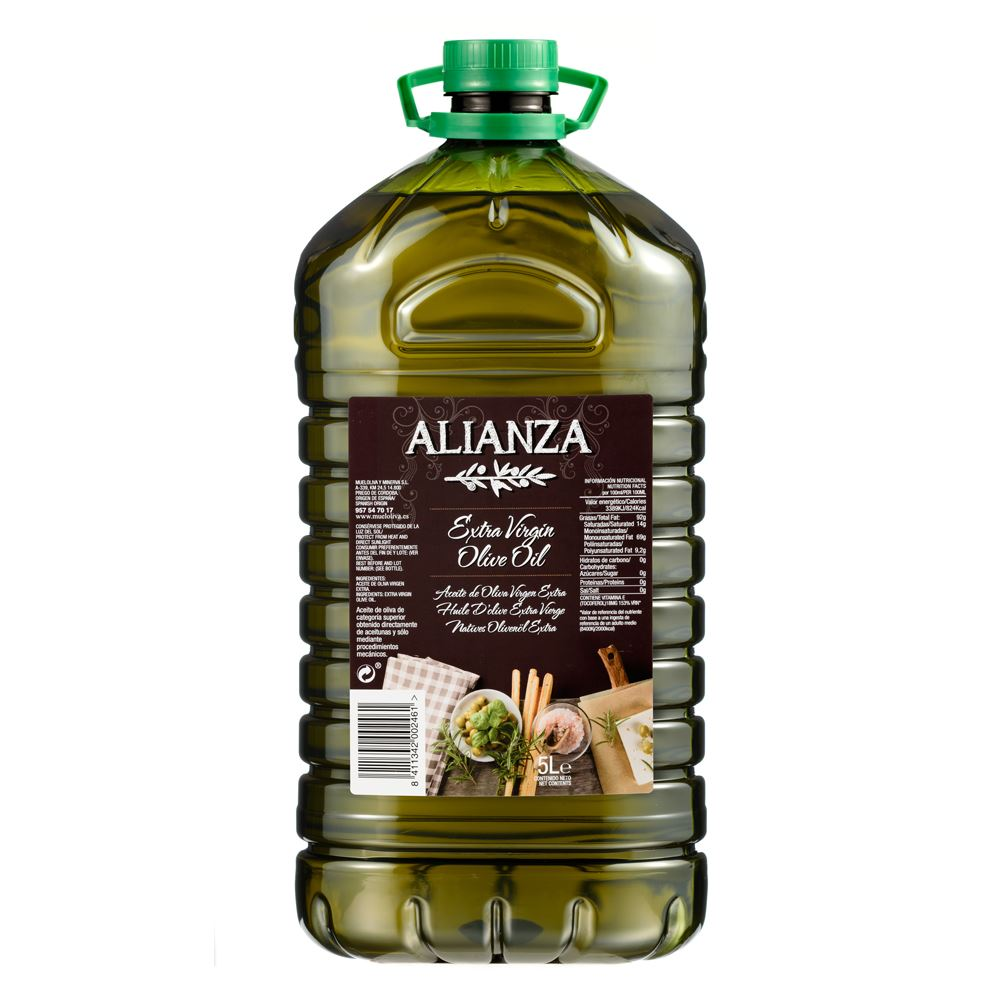 Alianza Extra Virgin Olive Oil 5L
