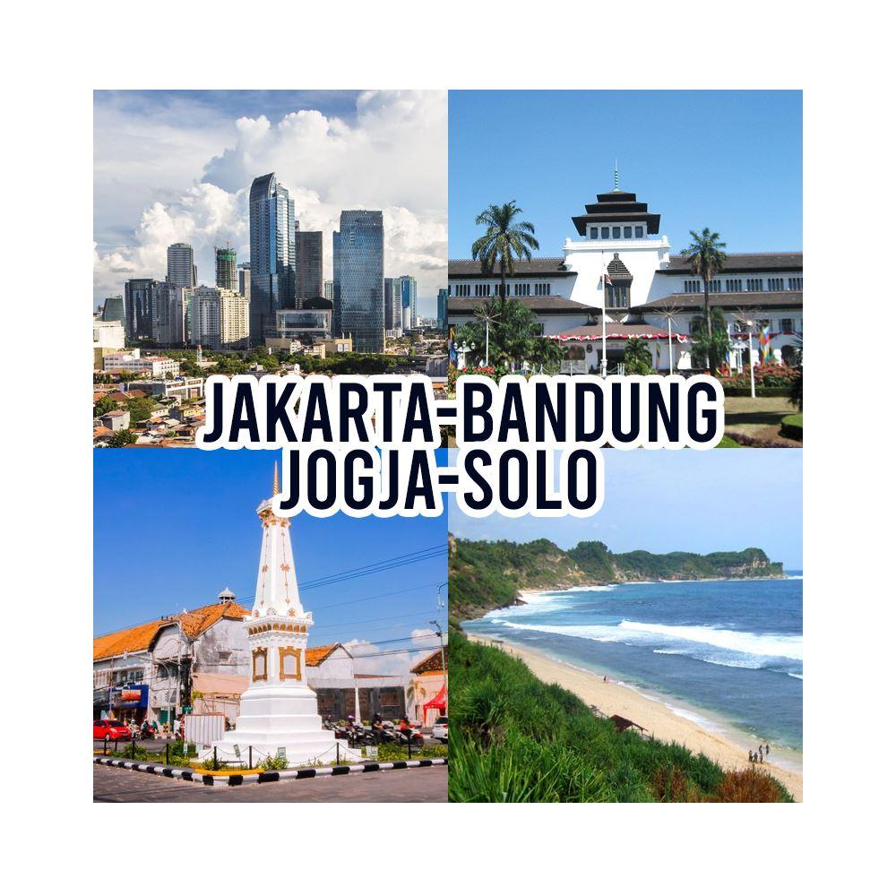 Jakarta Bandung Jogja Solo