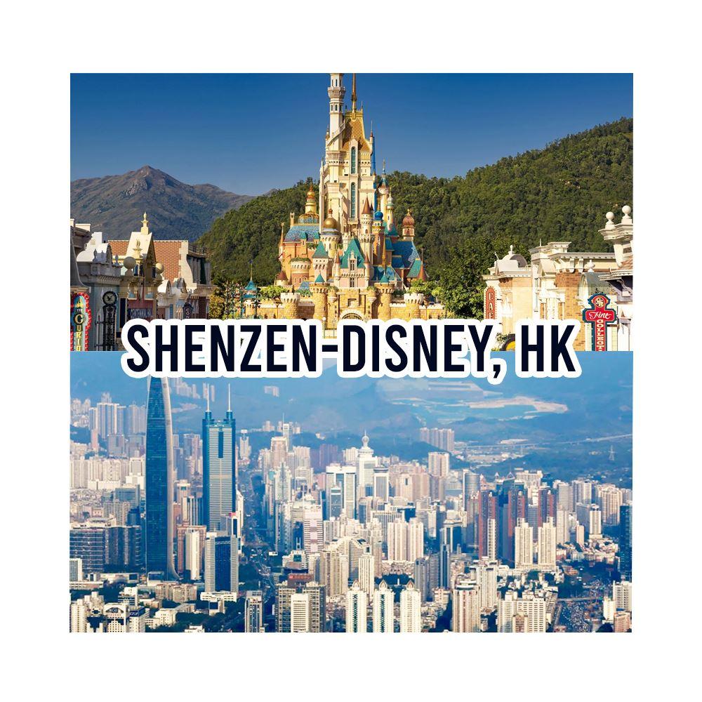 Hong Kong Disney Shenzhen - 11, 23 Jan, 1 Feb, 1 March 2013 (5 Days 3 Night)