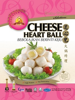 CHEESE HEART BALL