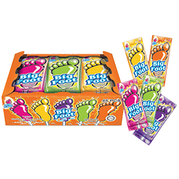 Big Foot Sour Powder + Lollipop (48 pcs)
