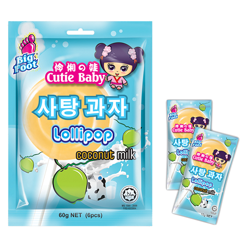 Cutie Baby Lollipop (Coconut Milk)