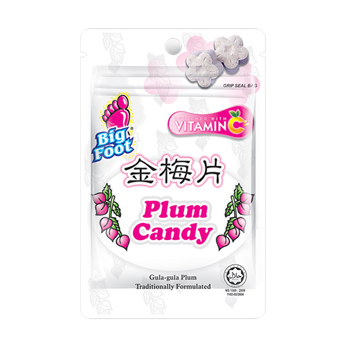 Big Foot Plum Candy (Box)