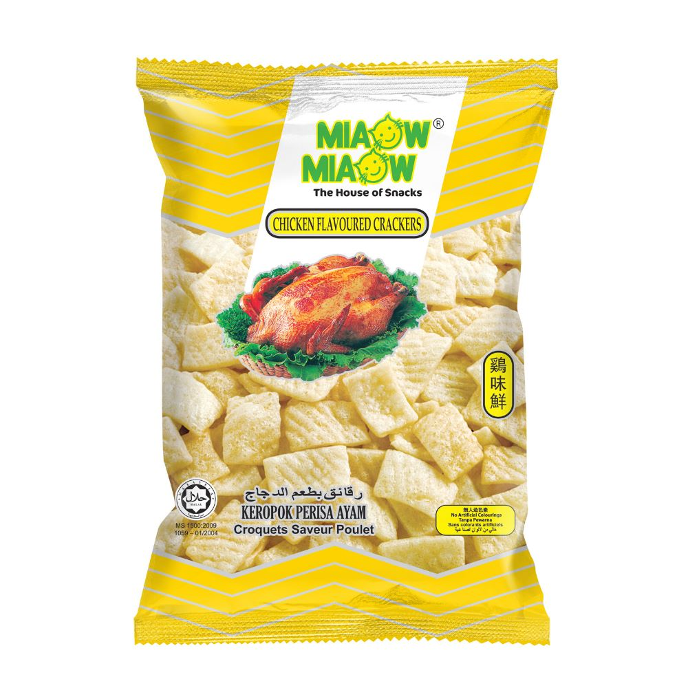 Miaow Miaow - Chicken Flavoured Crackers