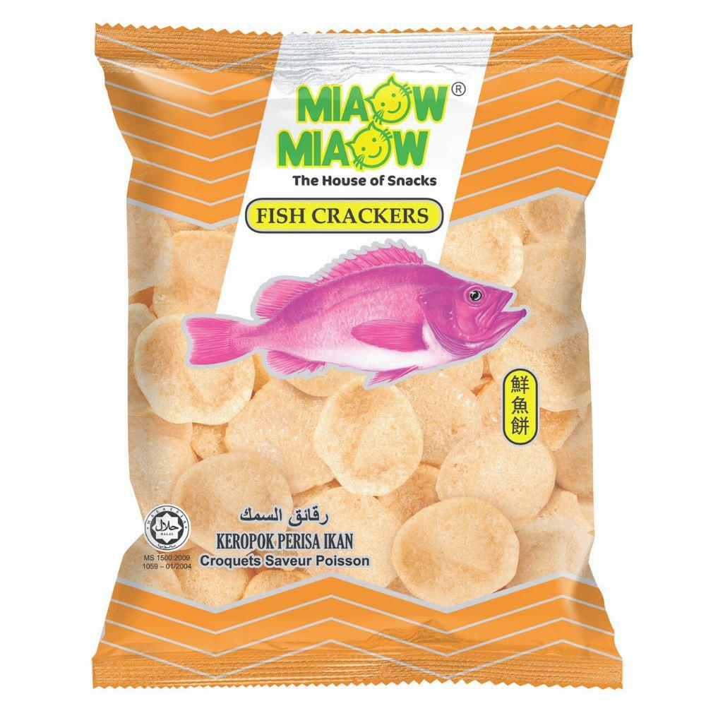 Miaow Miaow - Fish Crackers
