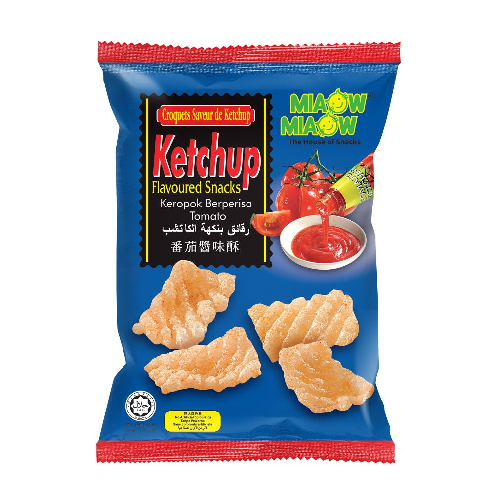 Miaow Miaow - Ketchup Flavoured Snack