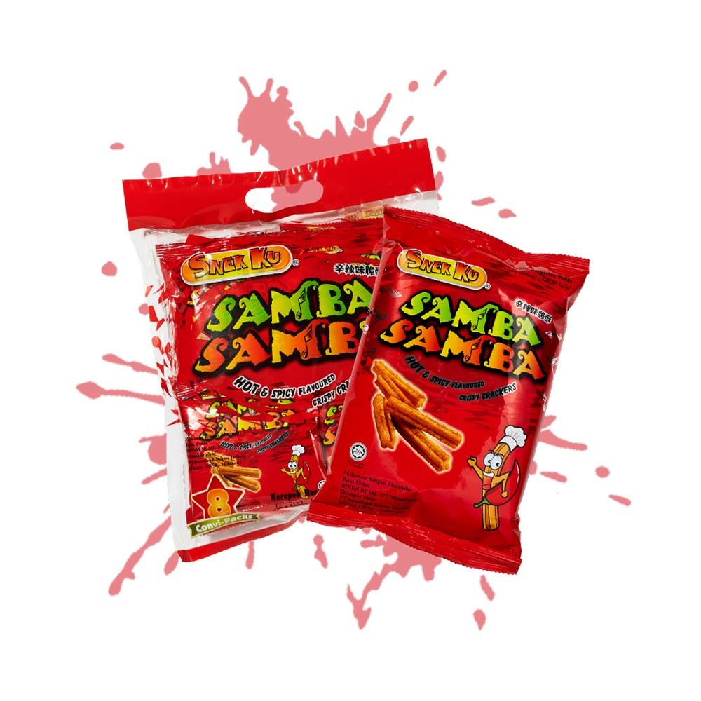 Samba Samba Hot & Spicy Flavour