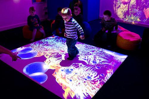 Interactive Floor Projection