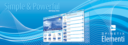 Elementi Digital signage software