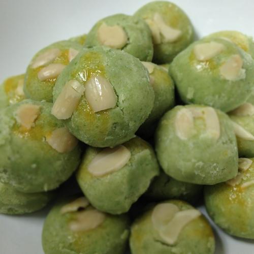 Green Peas Bites Cookies