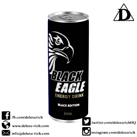Black Eagle Energy Drink (Black Edition)