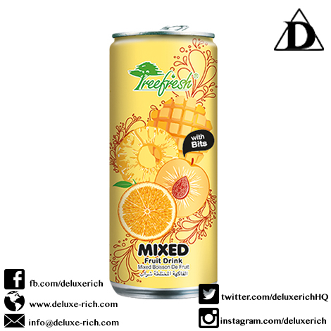 Treefresh Mixed Fruit Juice Drink With Bits