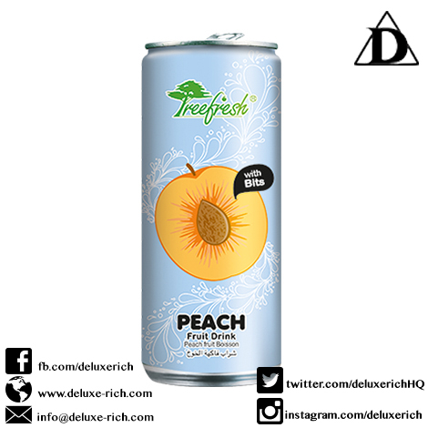 Treefresh Peach Juice Drink With Bits