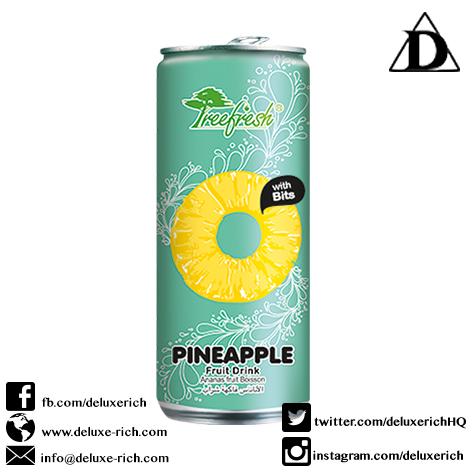 Treefresh Pineapple Juice Drink With Bits