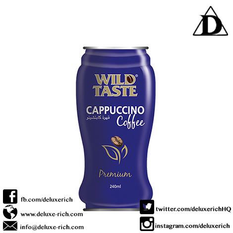 Wild Taste Cappuccino Coffee Drink