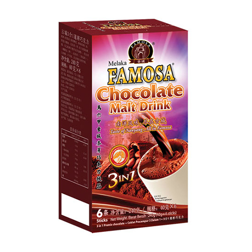 Famosa Chocolate Malt Drink 3 in 1