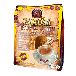 Famosa Premix 3 in 1 Coffee