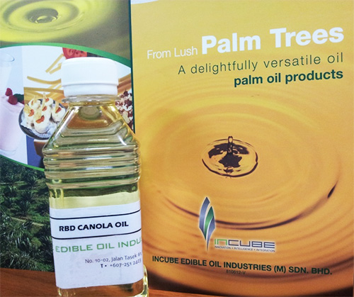 RBD Canola Oil