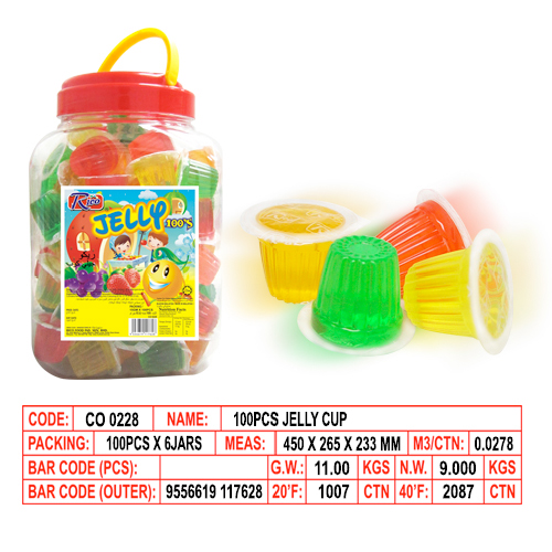 100 pieces Jelly Cup