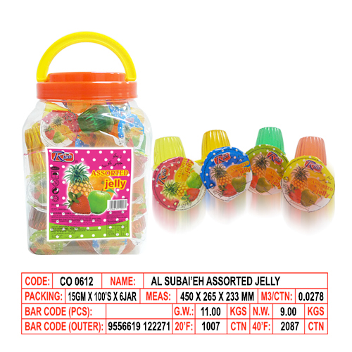 Al Subai'eh Assorted Jelly