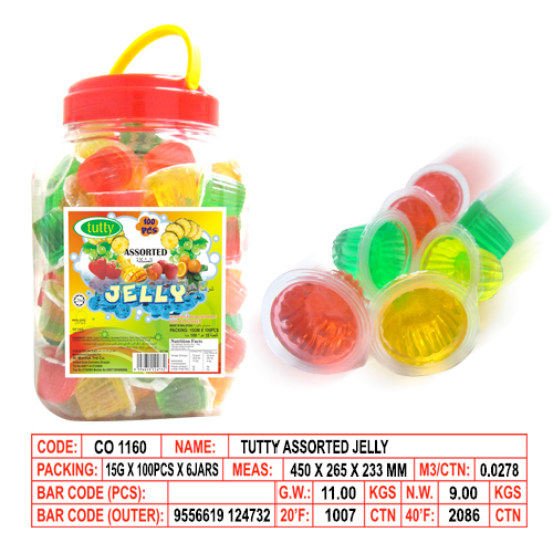 Tutty Assorted Jelly