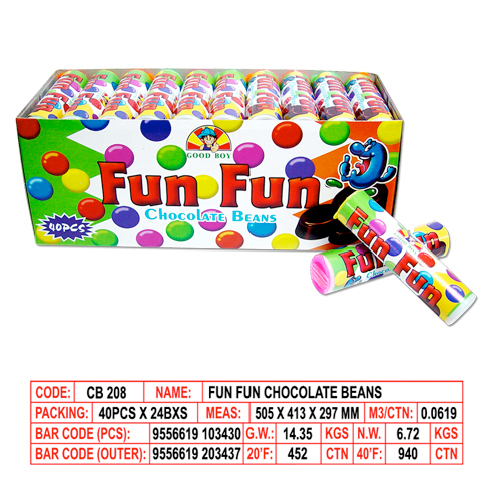 Fun Fun Chocolate Beans