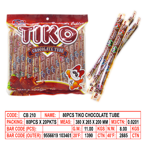 Tiko Chocolate Tube