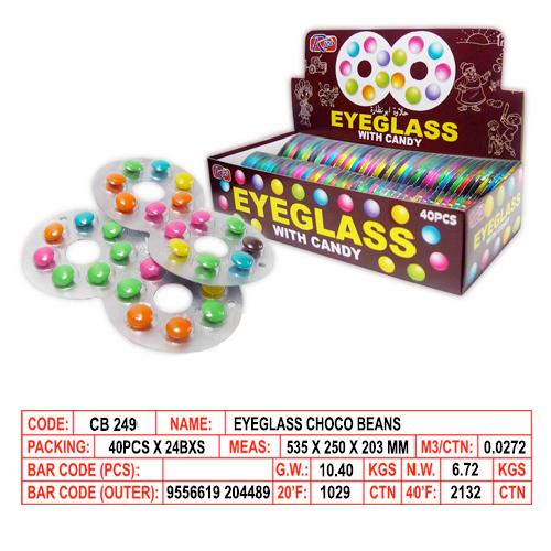Eyeglass Choco Beans