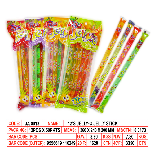 12's Jelly-O Jelly Stick