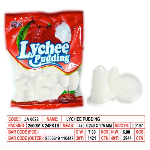 Lychee Pudding