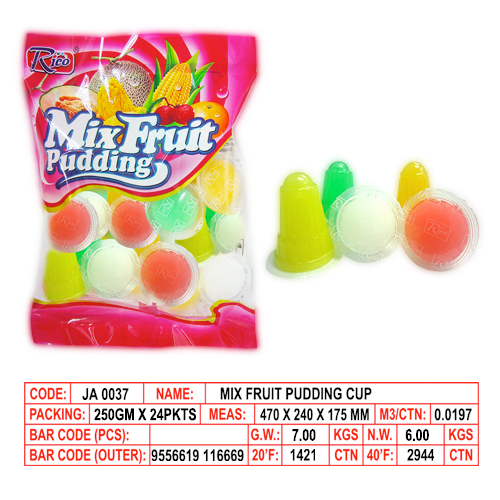 Mix Fruit Pudding Cup