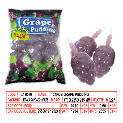Grape Pudding
