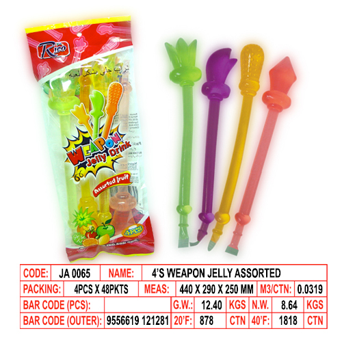 4's Weapon Jelly Assorted