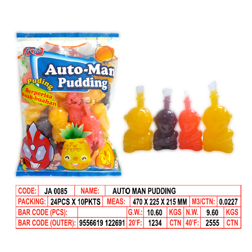Auto Man Pudding