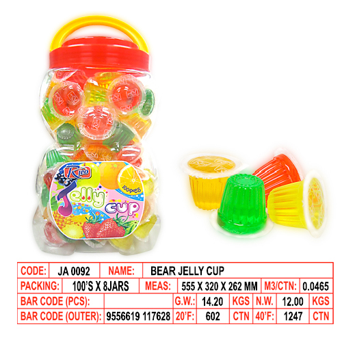 Bear Jelly Cup
