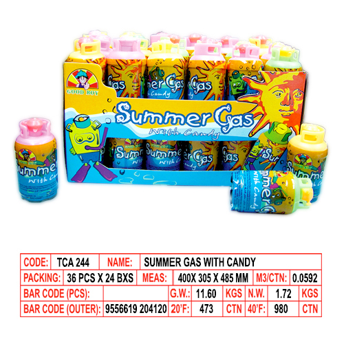Summer Gas with Candy