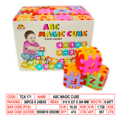 ABC Magic Cube