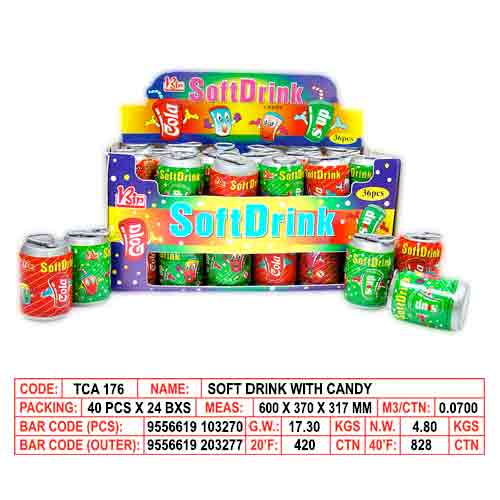 Soft Drink Candy