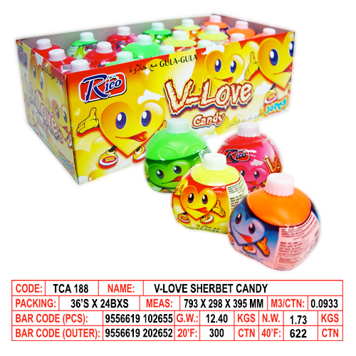 V-Love Sherbet Candy