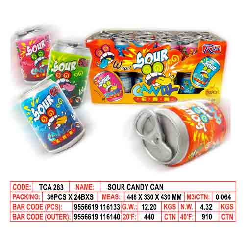 Sour Candy Can